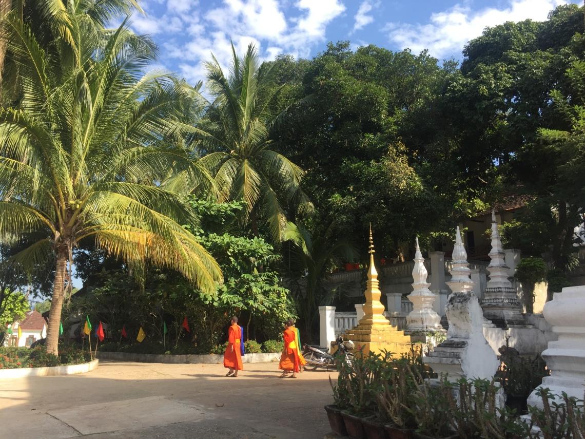 Luang Prabang stupas