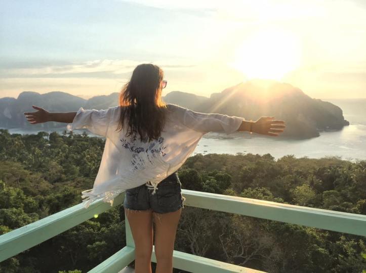koh phi phi viewpoint sunset
